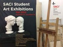 Fall 2012 SACI Student Art Exhibitions