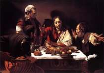 "Caravaggio ""Supper at Emmaus"""