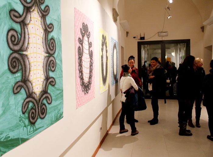 Ellen Burchenal: Recent Works on Paper in SACI's Maidoff Gallery