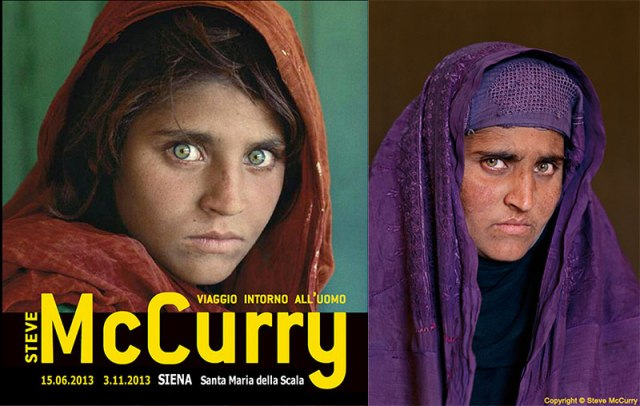 Steve McCurry Photography Exhibition In Siena June 15 November 3 2013