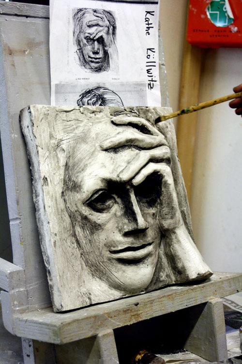 Summer in florence saci s beginning sculpture class