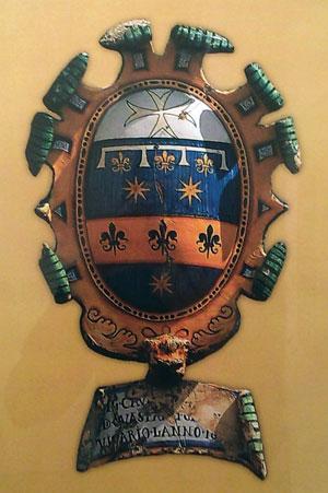 Coat of Arms for Bacio di Guasparri del Giocondo