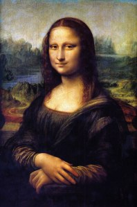 "Da Vinci's ""Mona Lisa"" aka ""La Gioconda"" in Italian."