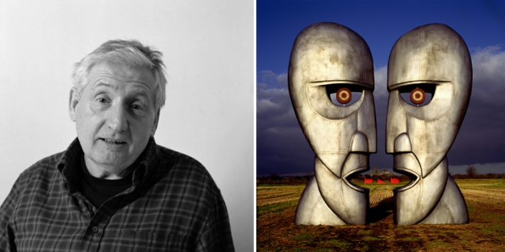 Storm Thorgerson, photo by Jill Furmanovsky and