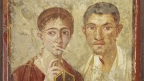 Portrait of Terentius Nero and his wife (Soprintendenza Speciale per i Beni Archeologici di Napoli e Pompei)