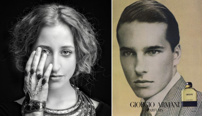 Photographs by Aldo Fallai for Giorgio Armani