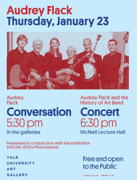 Audrey Flack and the History of Art Band