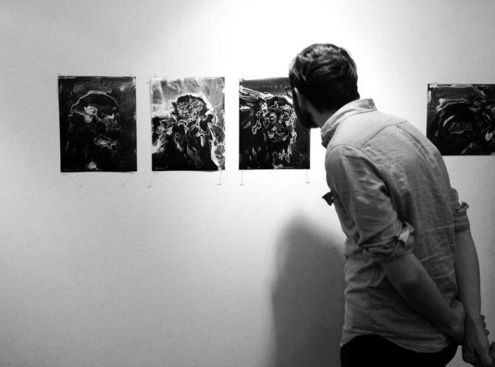 "Lia Halloran: ""The Wonder Room"" in the SACI Gallery, Florence"