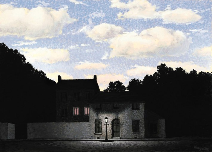 "René Magritte, ""The Empire of Light"" series (L'Empire des lumières)"