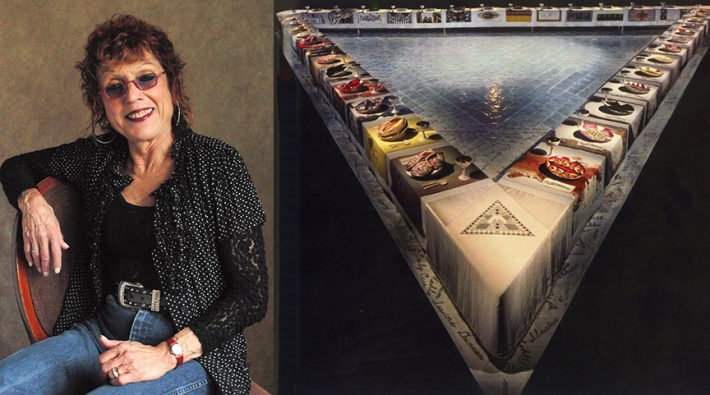 """Judy Chicago, """"The Dinner Party"""" (1979)"""