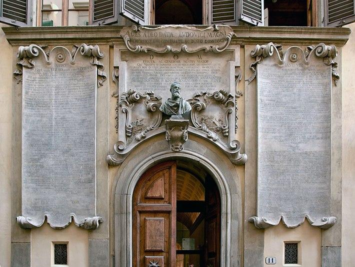 SACI's Palazzo dei Cartelloni, Via Sant'Antonino, 11 in Florence, Italy