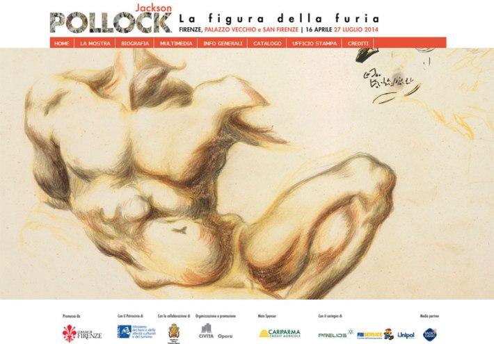 Pollock & Michelangelo