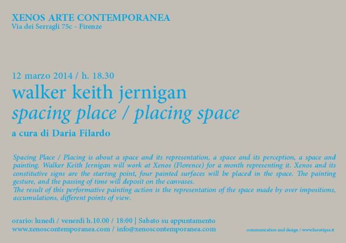 Spacing place / placing space