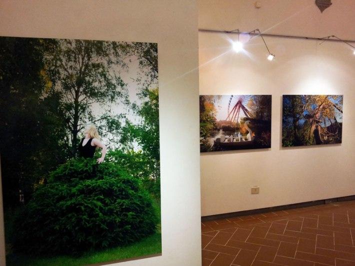 """Anni Kinnunen, """"Personal Landscape"""" exhibition in the SACI Gallery"""