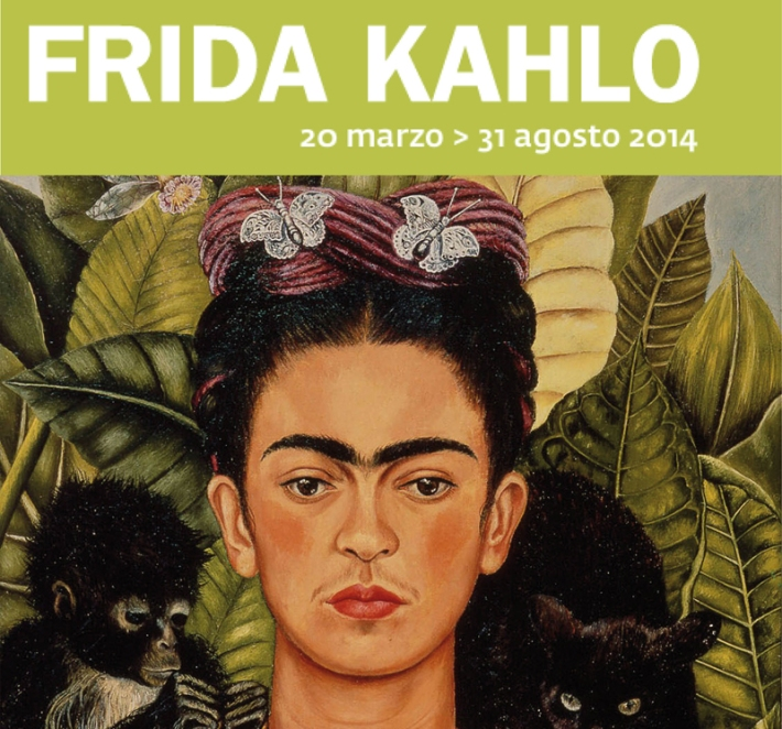 Frida Kahlo at the Scuderia del Querinale, Rome