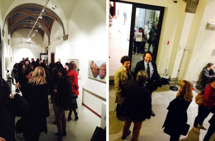 Marco Klee Fallani exhibition in SACI's Maidoff Gallery, Florence