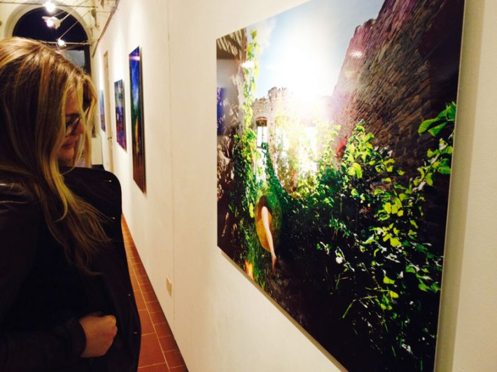 "Anni Kinnunen, ""Personal Landscape"" exhibition in the SACI Gallery"