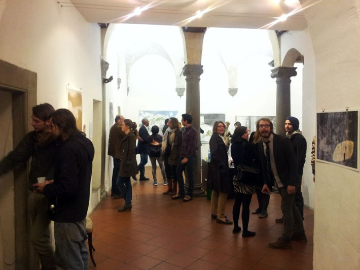 2014 Post-Bac Exhibition at La Corte Gallery in Florence