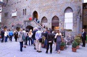 Entry into the Comune of Cortona