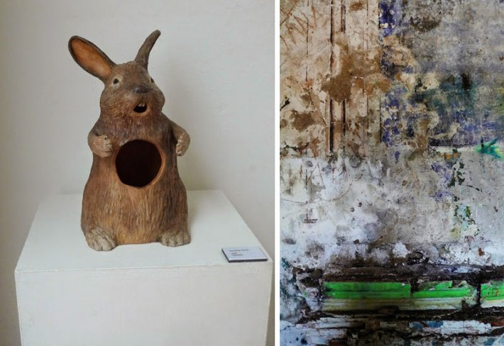 Ceramic by Courtney Dixon and photo by Leon Jones
