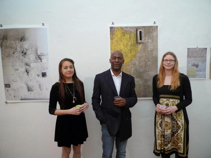 Allie Wong, Leon Jones, and Courtney Dixon