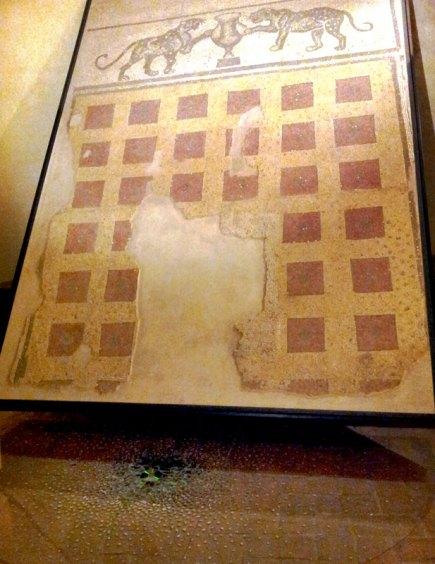"Danielle Schaefer, ""Ricordando la Storia,"" installation (floor)"