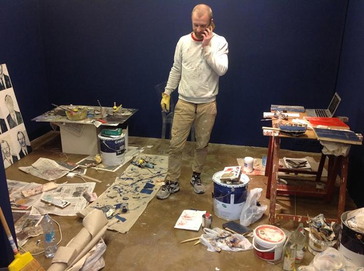 Walker Keith Jernigan, artist in residence, Boccanera, Trento