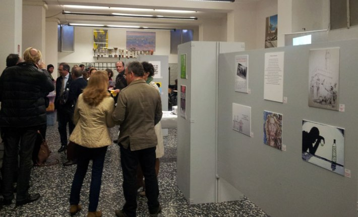 Drinking on the Right Side art exhibition