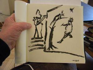 Sketch by Jules Maidoff