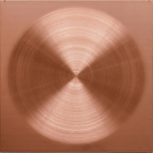 "Sophie Tottie, ""White Lines"" (copper drawings) ,copper, 50 x 50 x 0,2 cm"