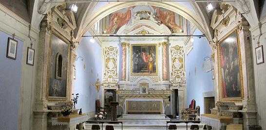 Cappella di Santa Maria degli Angiolini, Florence, Italy.