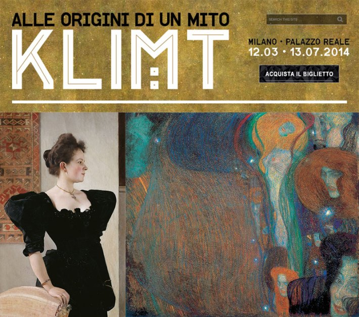 Klimt in Milan