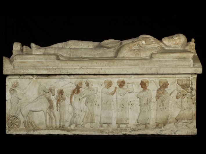 Etruscan Sarcophogus from Cerveteri