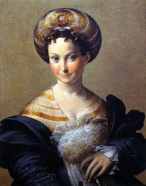 """Parmigianino, """"La Schiava Turca"""", c. 1533"""