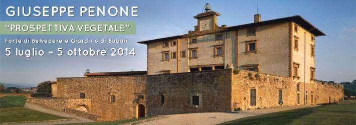 Giuseppe Penone at Forte Belvedere