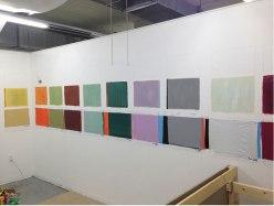 "Ryan Ward, ""Decade-ode"", Acrylic and Plastic, 4.5x18'"