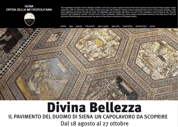 Divina Bellezza: Siena Cathedral Floor