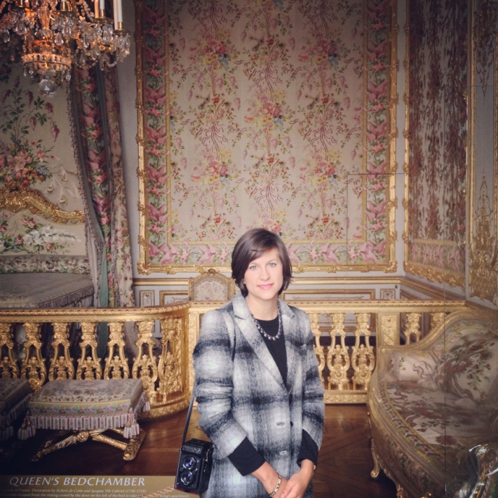 Photographer Emily Jay in Versailles