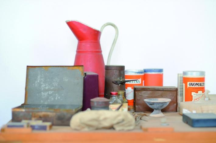 Luciano Leonotti, Casa-studio Morandi, Grizzana, 2014, 50x60cm