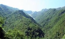 The Apuan Alps around Pietrasanta (Tuscany)