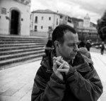 SACI Photography instructor, Romeo Di Loreto (Photo: Jacopo Santini)