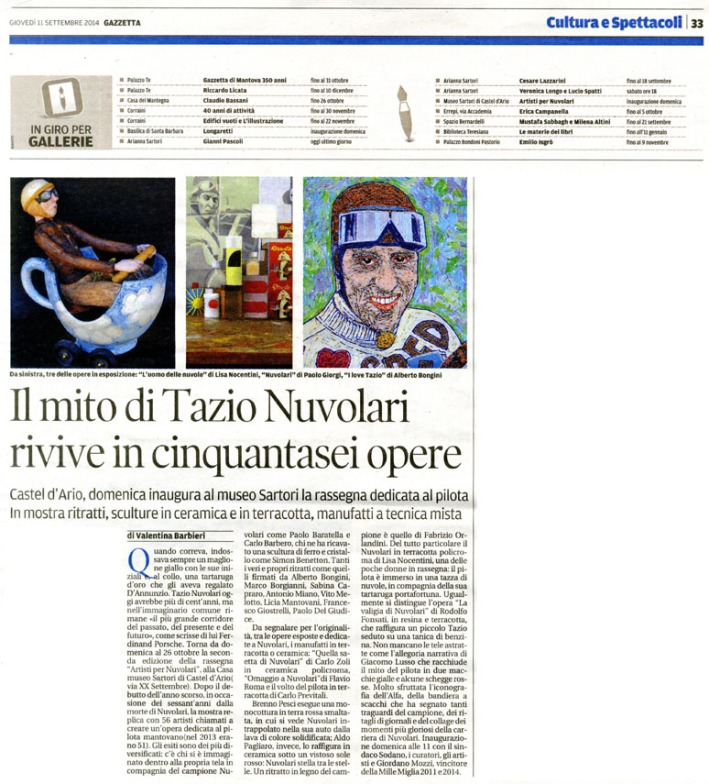 Gazzetta di Mantova, 11-9-14