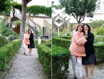 """Temporary Relationships"" in the SACI garden"