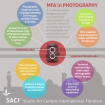 SACI's MFA in Photography 2-year program in Florence, Italy