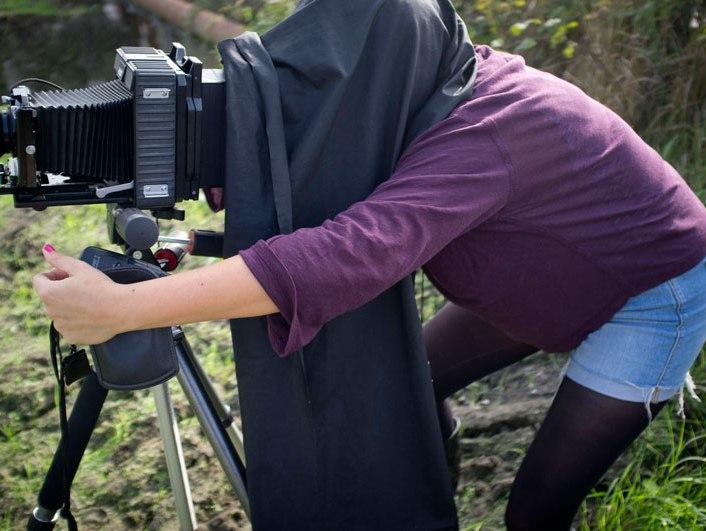 MFA in Photography SACI student