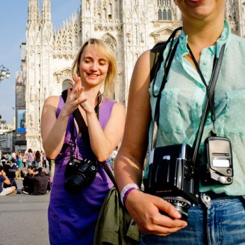 SACI MFA in Photography students in Milan