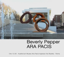 Beverly Pepper at ARA PACIS