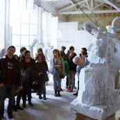 SACI Sculpture fieldtrip Fall 2014 to Stagetti Marble Studio