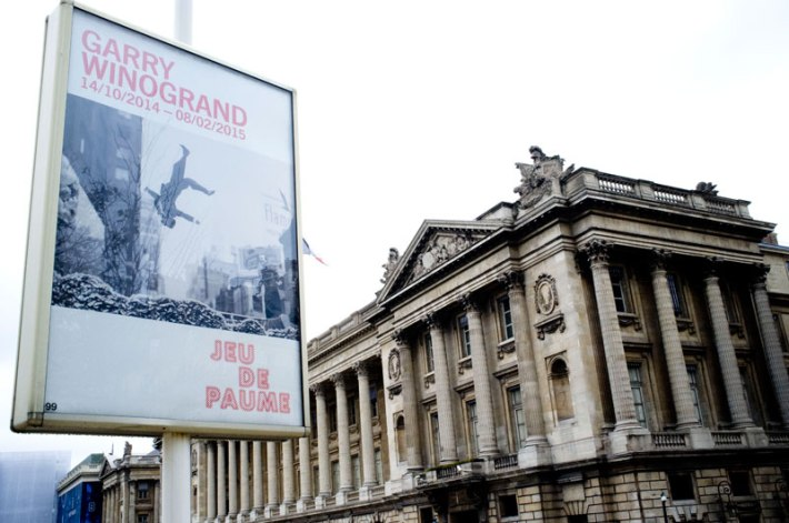Garry Winogrand exhibition in Paris