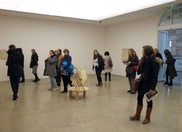 Lawrence Carroll exhibition at MAMbo, Bologna